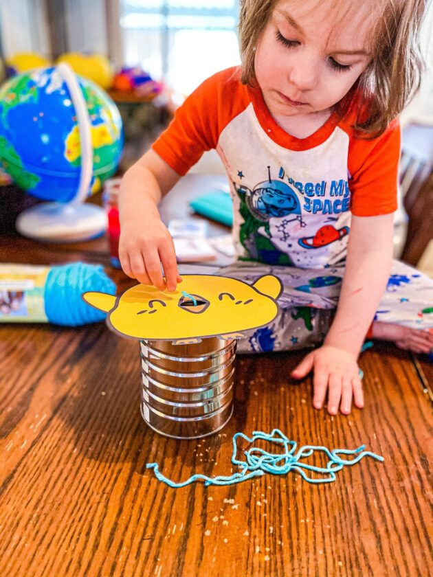 Feed the Baby Birds Fine Motor Activity Printable for Toddlers & Preschoolers