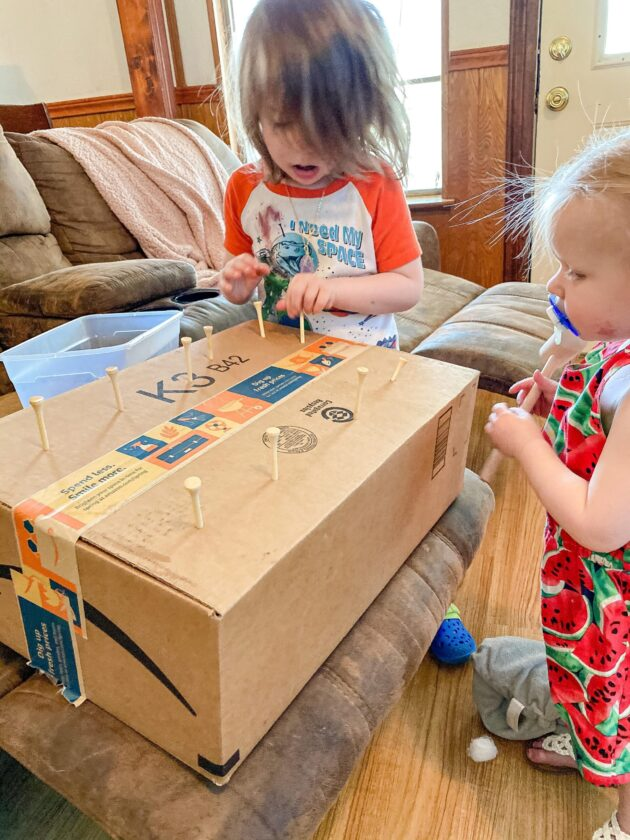 Hammering Tees in a Box Activity