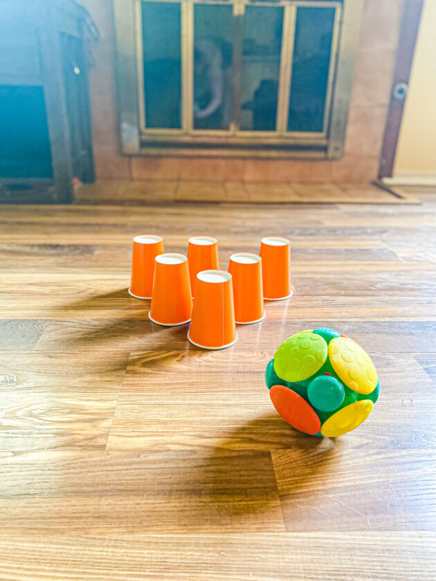 Plastic Cup Bowling