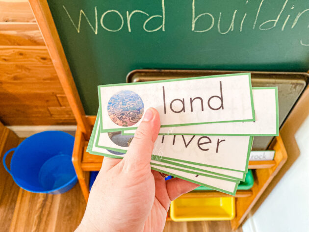 Earth Science Word Building Cards